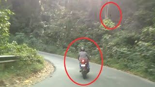 Scary videos | Real Ghost Caught On Camera From A Haunted Road ...