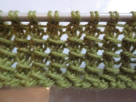 Tuto tricot apprendre a tricoter le point de bambou point de tricot fantaisie facile - Point fantaisie tricot phildar ...