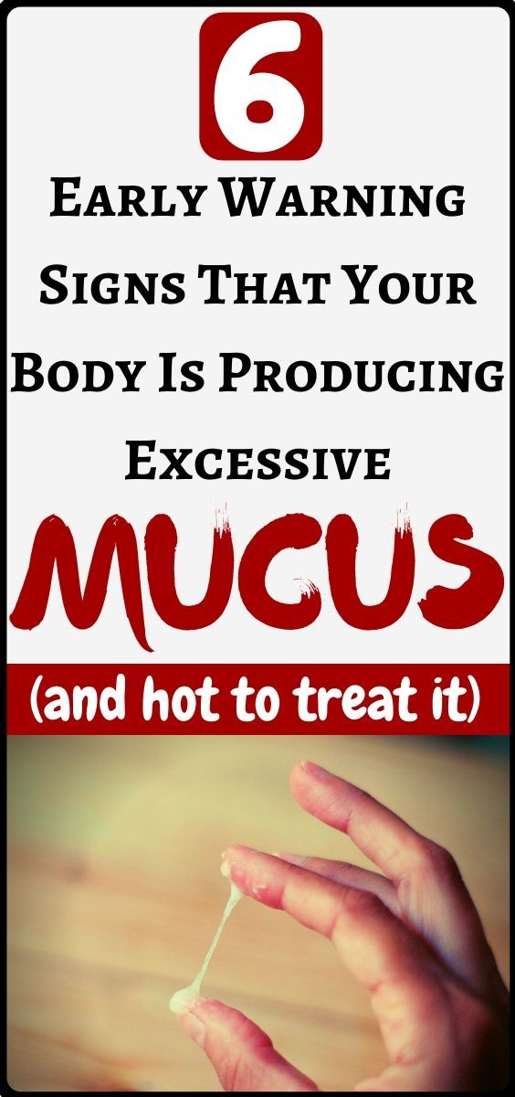 6 early warning signs that your body is producing excessive mucus and how to stop it...!