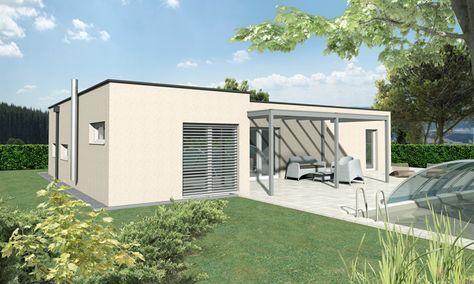 Der 110 m² Malli Bungalow mit Flachdach