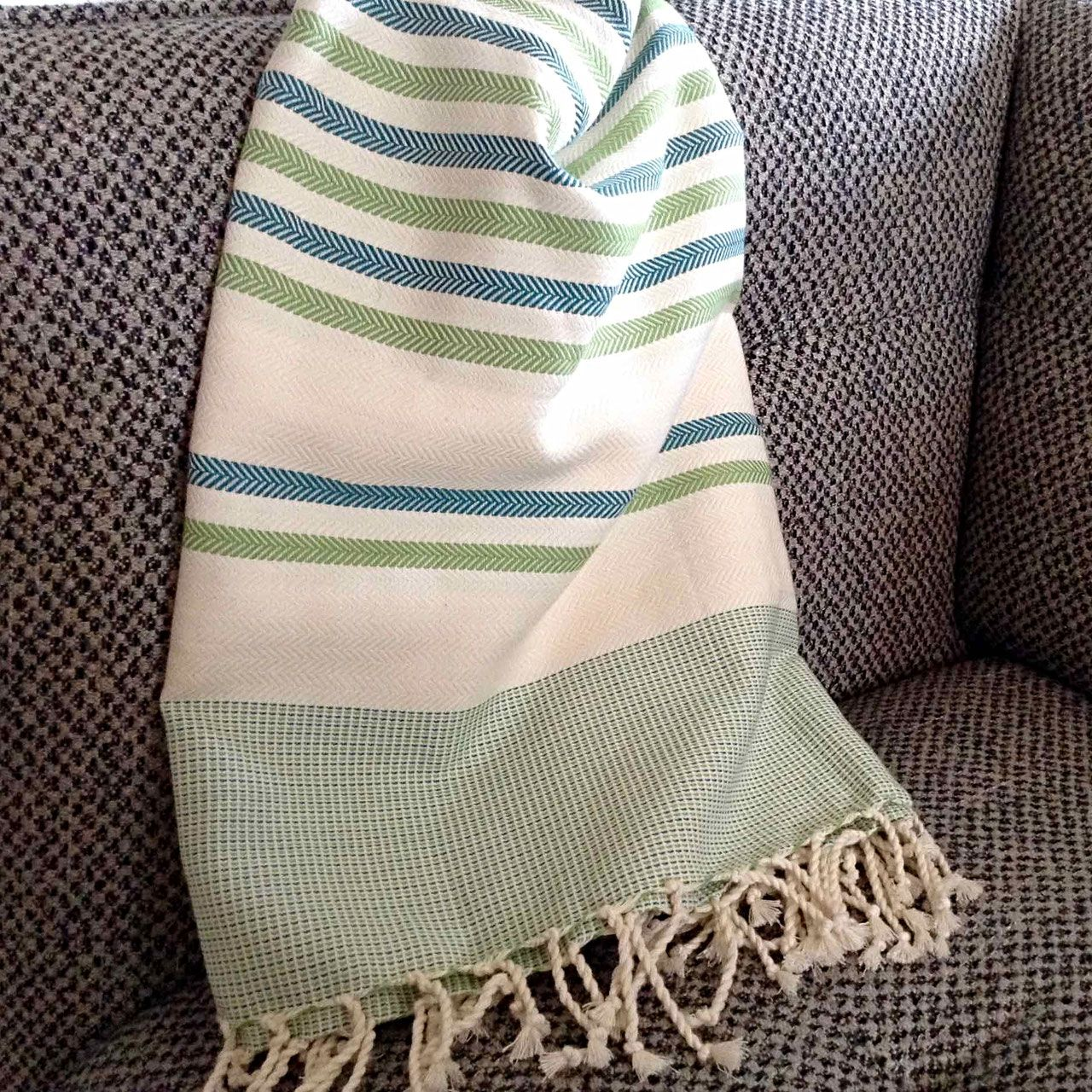 Fouta Tunisienne De Plage Chevron Adgart Turkish Cotton Towels Fouta Towels Beach Towel