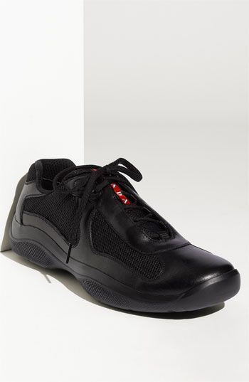 more photos f7ce9 15f8a Prada sneakers...butter soft leather...can dress up or dress down with  these too.