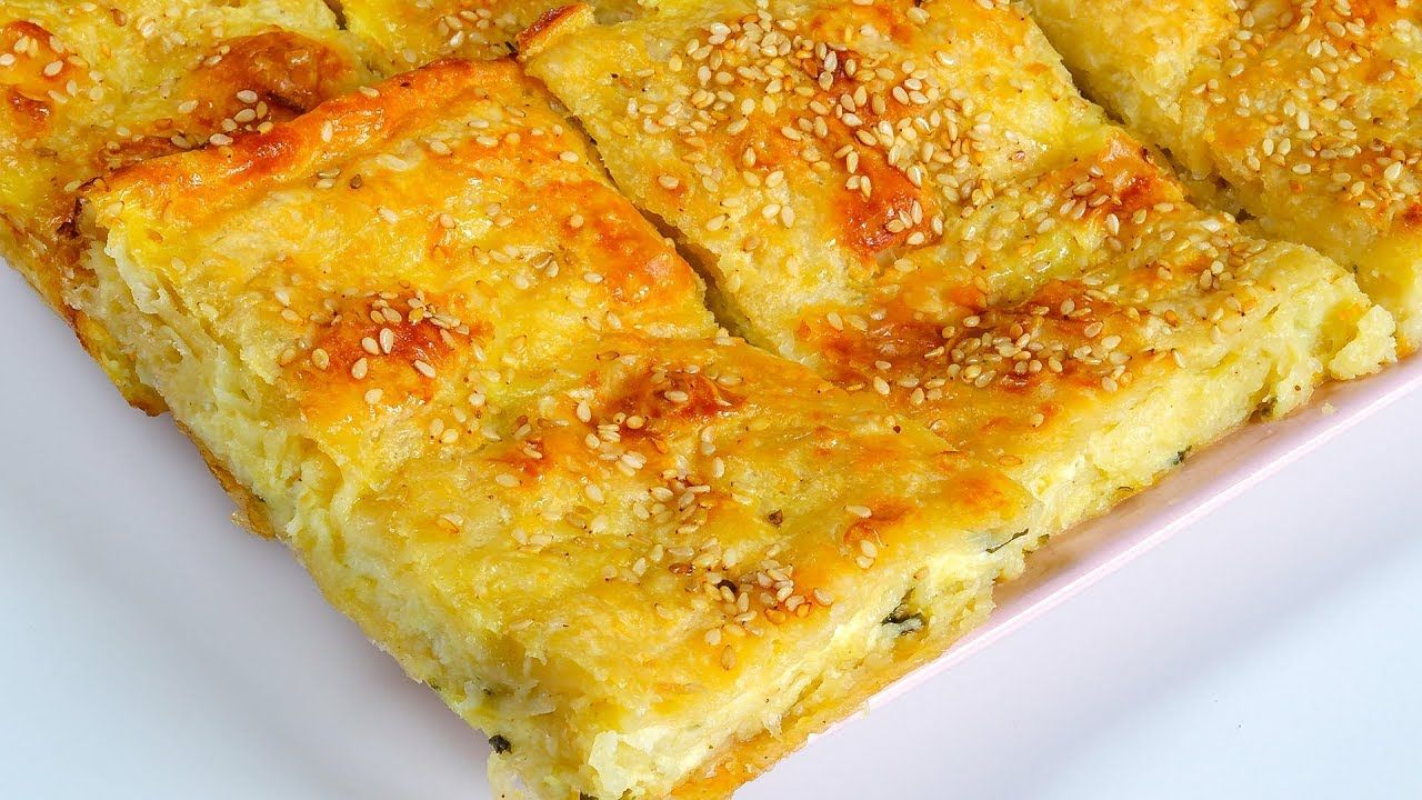 البوريك التركي احلي غدا ممكن تعمليه هيفوتك كتير لو مجربتيش طعمه رووووعه Food Yummy Food Turkish Recipes
