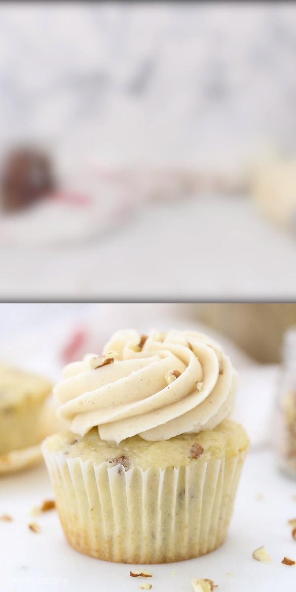 Brown Sugar Pecan Cupcakes