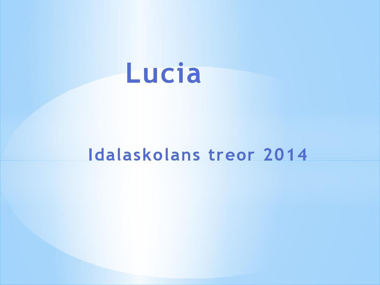 Luciasånger åk 3 2014
