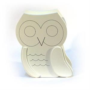 Universal Wooden Owl Money Box