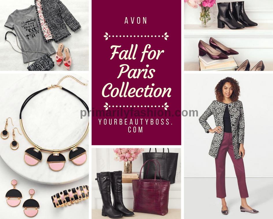 Shop the Avon Fall for Paris fashion collection! parisian