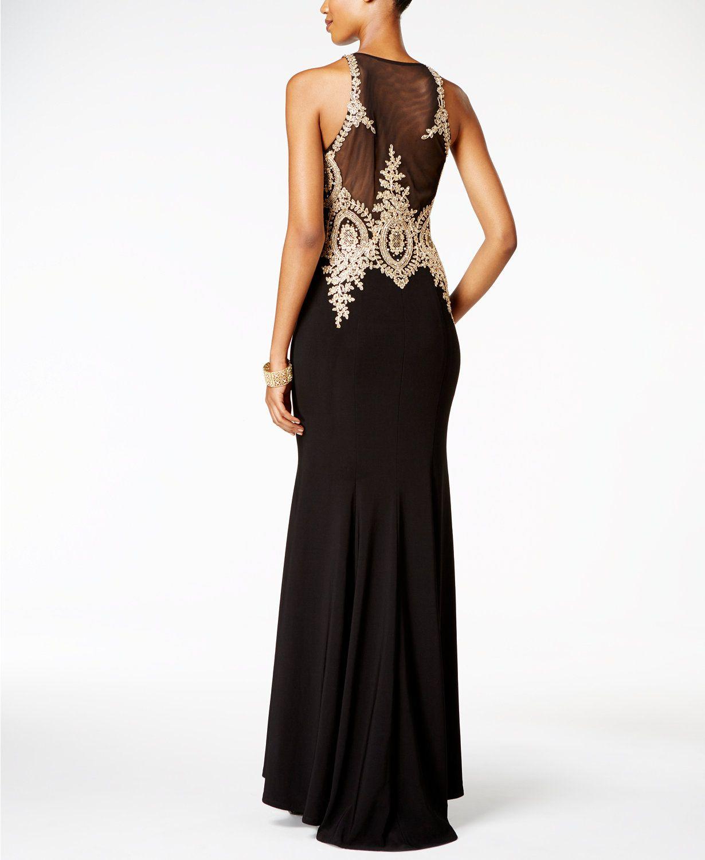 2fff5dc7d7f8 Floral-Lace Mermaid Gown | dresses | Mermaid gown, Lace mermaid ...