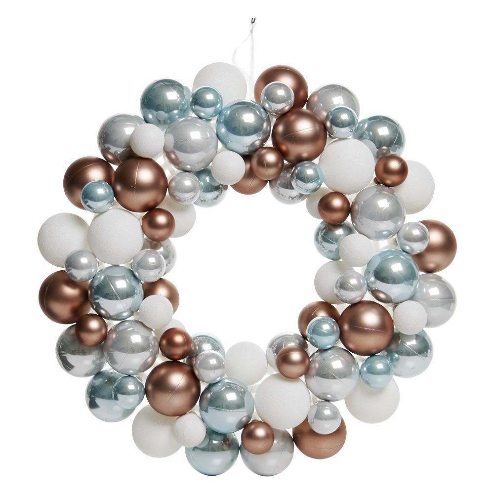 Enchant bauble wreath crafty leftovers pinterest wreaths buy enchantment decorations at wilko browse a wide range of baubles crackers table and tree decorations solutioingenieria Gallery
