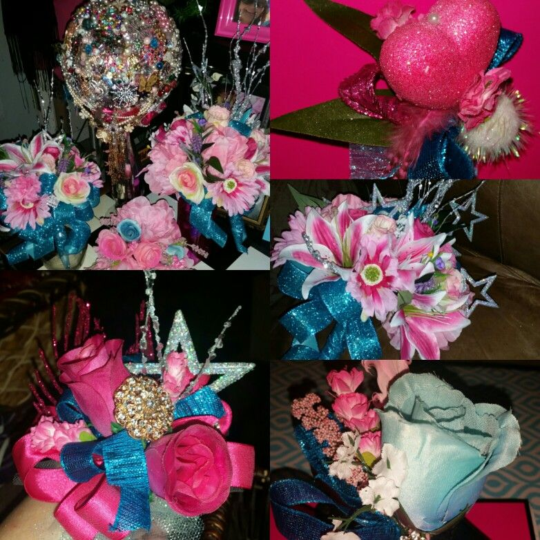 Turquoise Pink Wedding Theme For New Years Eve Wedding My