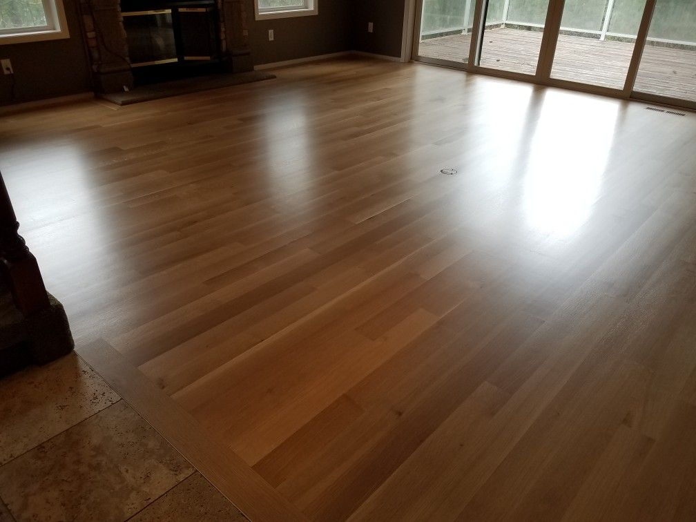 4 Inch Rift And Quartered White Oak Sanded Sealed Finished By Mid Valley Hardwood Llc Battle Ground Wa 98604 Sealer Use Oak Hardwood Hardwood White Oak