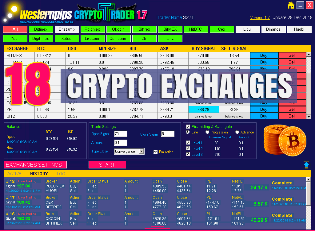 bitcoin arbitrage auto trading bot