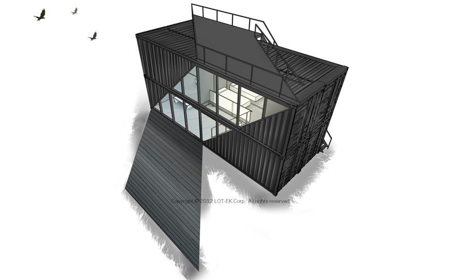 c-Home 4x40 - c-Home: Sustainable Prefab | homes_SB Concept ...