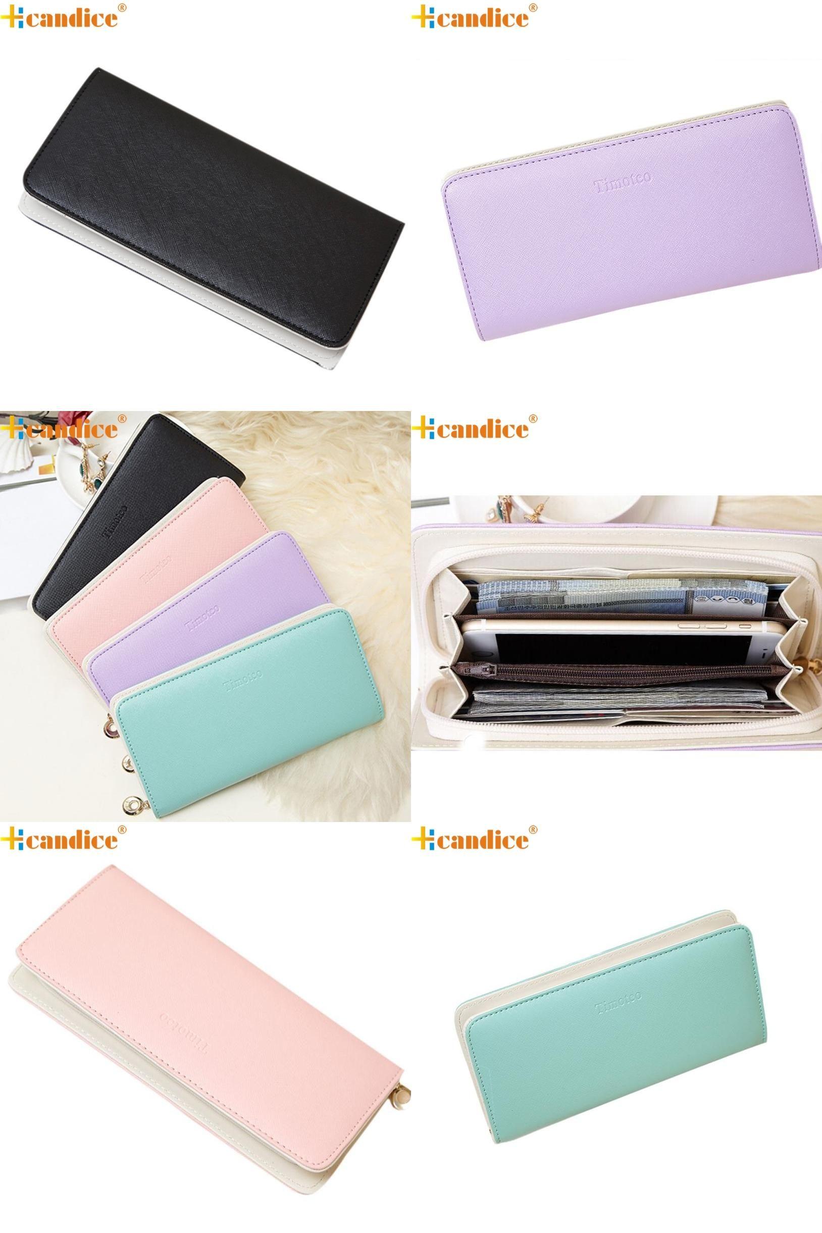 [Visit to Buy] Hcandice Best Gift Wholesale Women Clutch Long Purse Wallet Card Holder Handbag Bag Jan19 #Advertisement