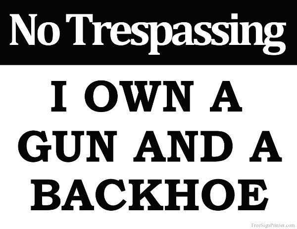 photo regarding No Guns Allowed Sign Printable named Pin upon Humorous Indicators