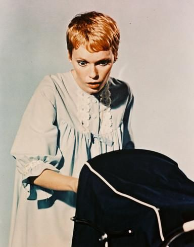 Rosemary's Baby Haircut : rosemary's, haircut, Farrow', Photo, AllPosters.com, Rosemary's, Baby,, Farrow,, Haircut