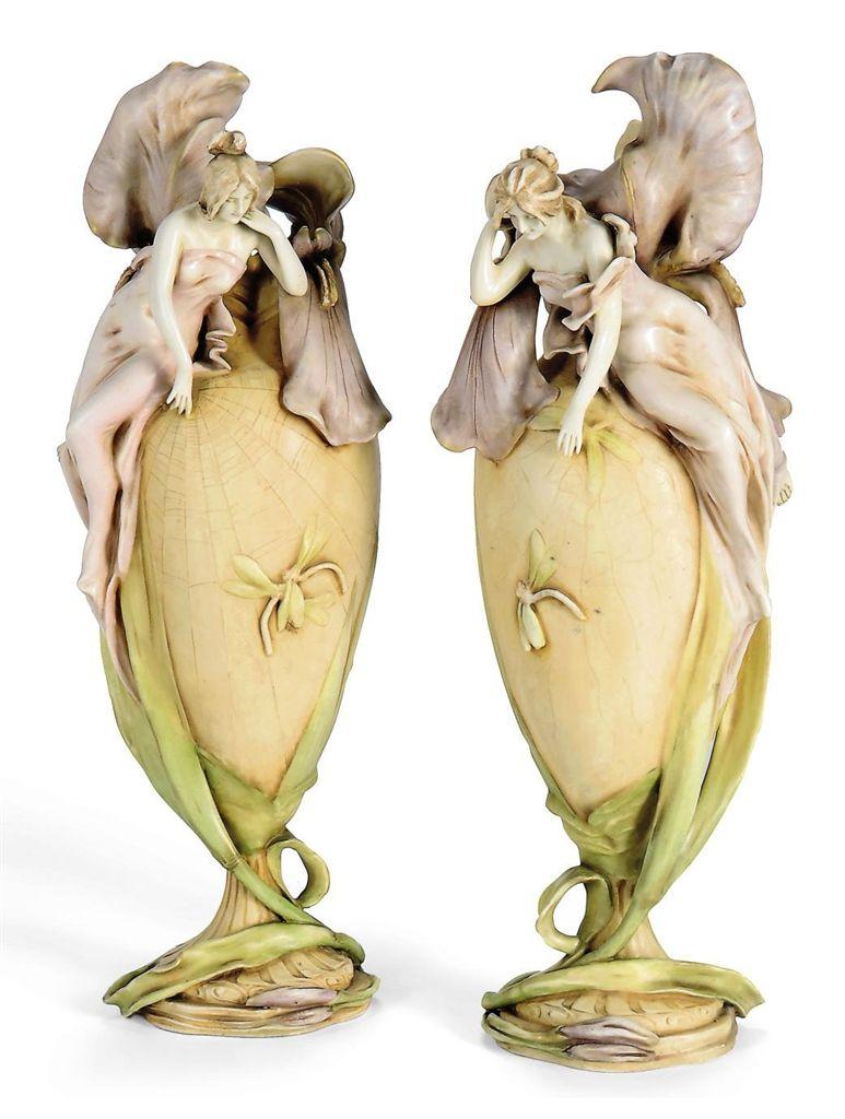 John Moncrieff Ltd Perth Monart Paisley Pattern Glass Vase