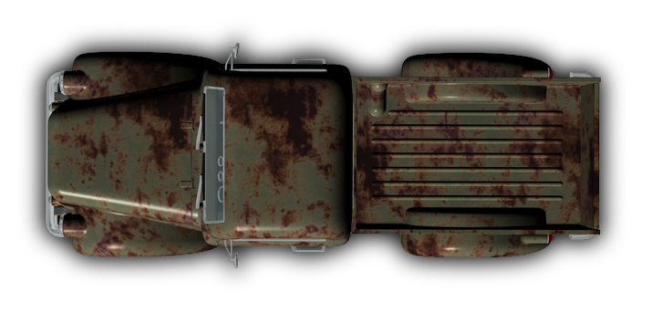 Truck Png Top View