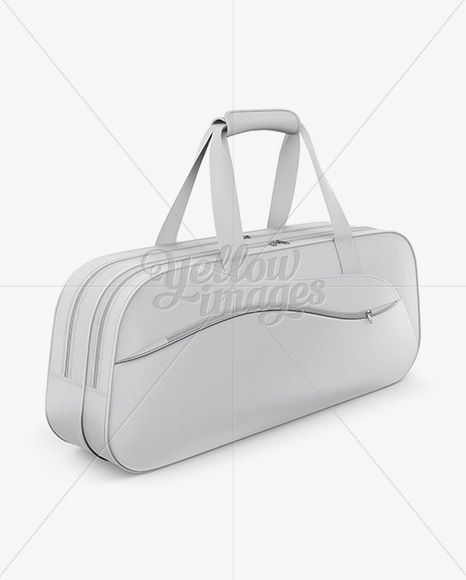 Download Badminton Bag Mockup Half Side View In Apparel Mockups On Yellow Images Object Mockups Bag Mockup Badminton Bag Mockup Free Psd