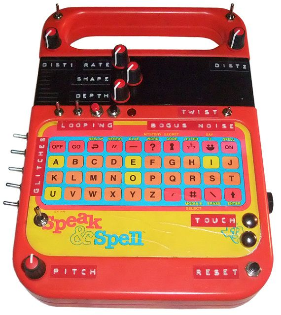 circuit bent speak spell maxwerk synth pinterest music rh pinterest com
