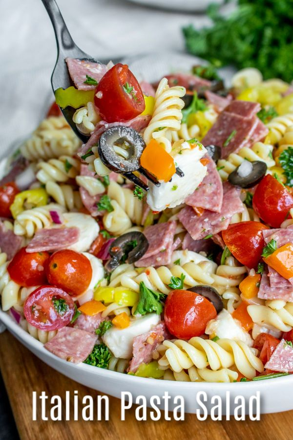 Italian Pasta Salad | Home. Made. Interest.