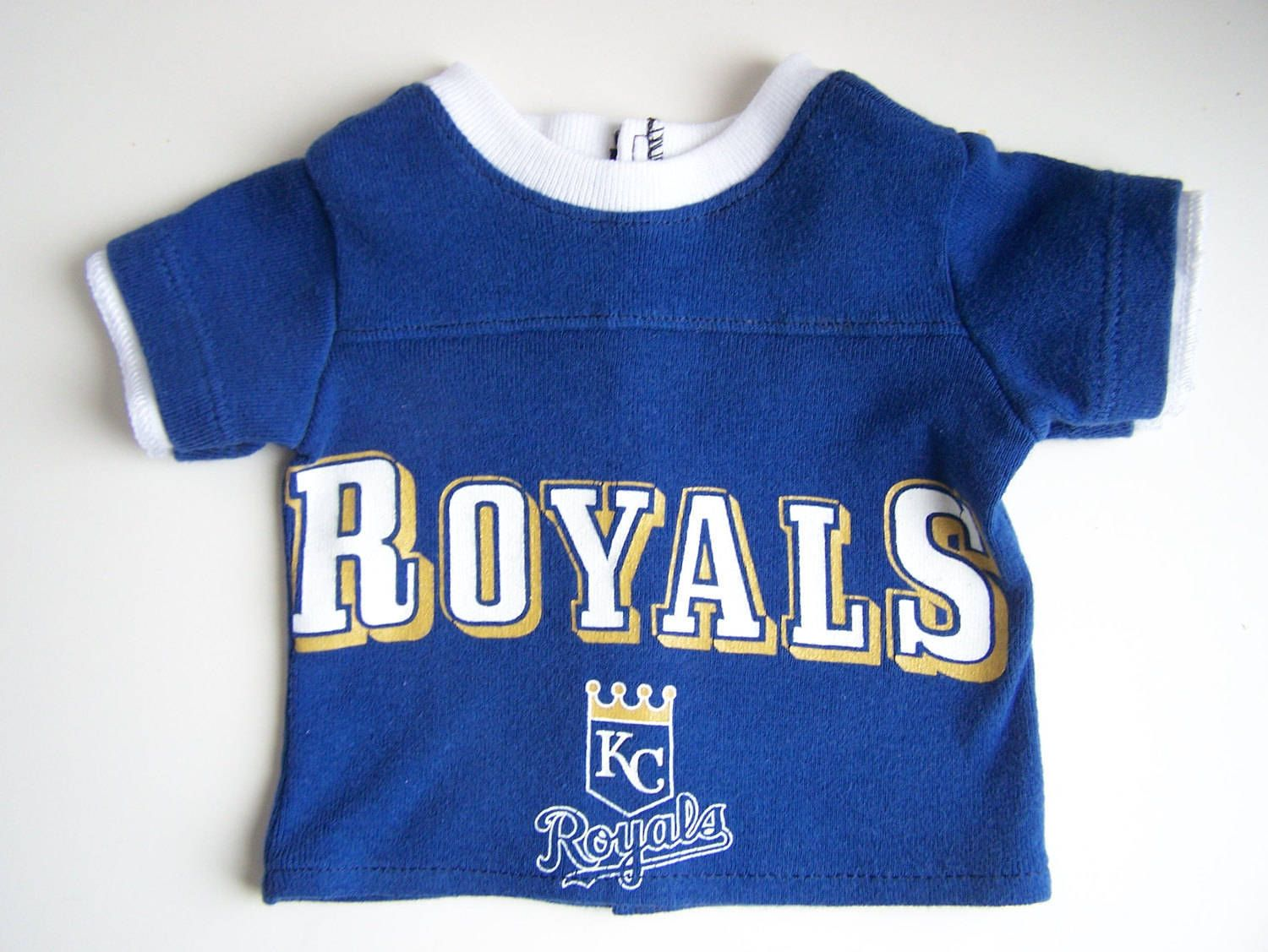 "Royal Blue T-Shirt Fits 18/"" American Boy or Girl Doll Clothes"