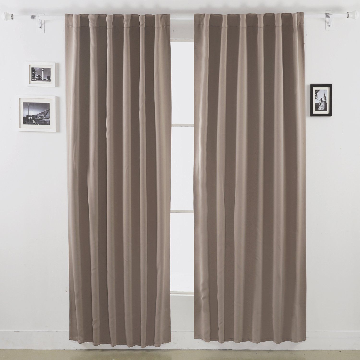 Curtain: Ceiling Track Set Medium For Spaces from Stunning Curtain ...
