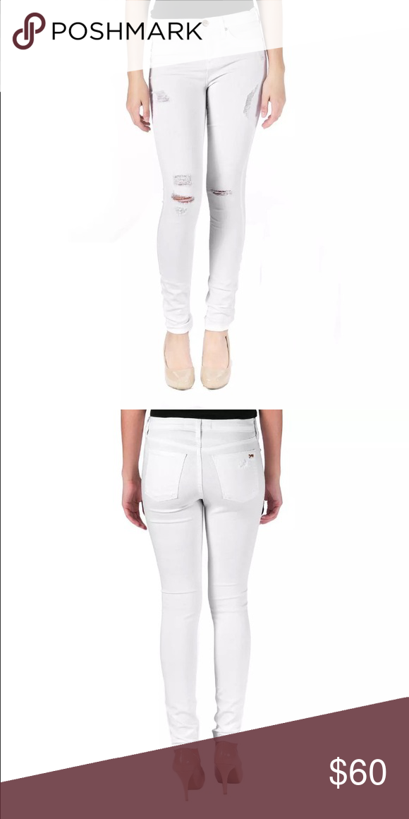 Juicy Couture Black Label Skinny Jeans Forever white, white skinny jean. Have some stretch to them. Juicy Couture Jeans Skinny