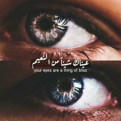They Are Pretty Words Arabic English Quotes Eyes