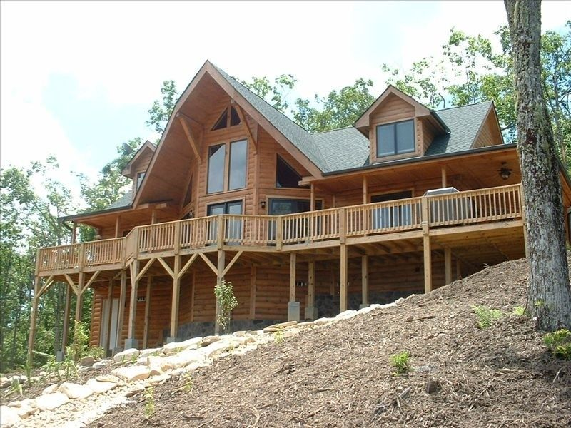 Vrbo Com 309193 Luxury Log Cabin With Spectacular Views Luxury Log Cabins Cabin Cabin Vacation