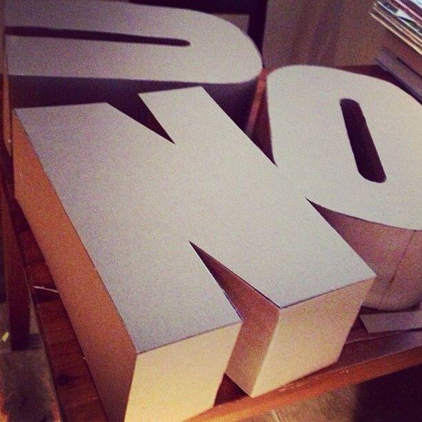 Constructing typography