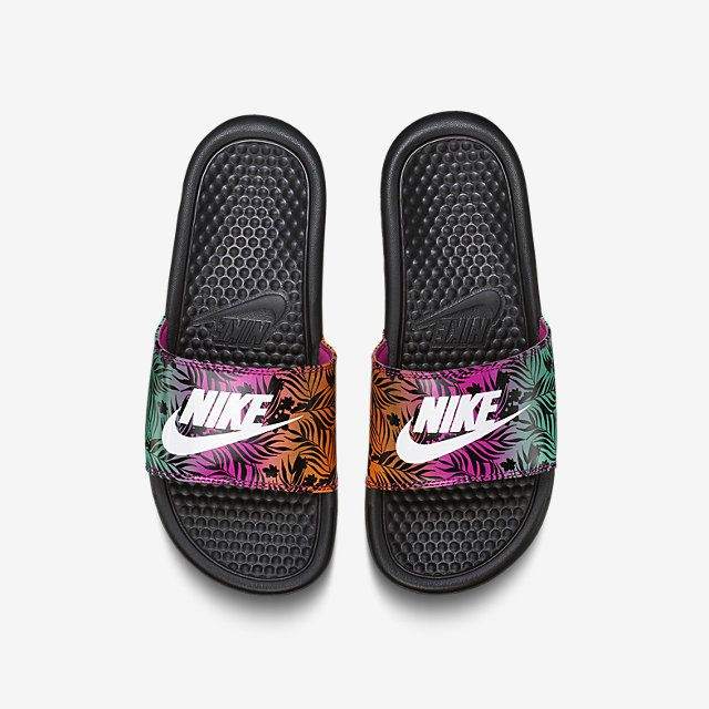 252d695f9 Nike Benassi Just Do It Print Preschool Kids  Slide. Nike Store ...