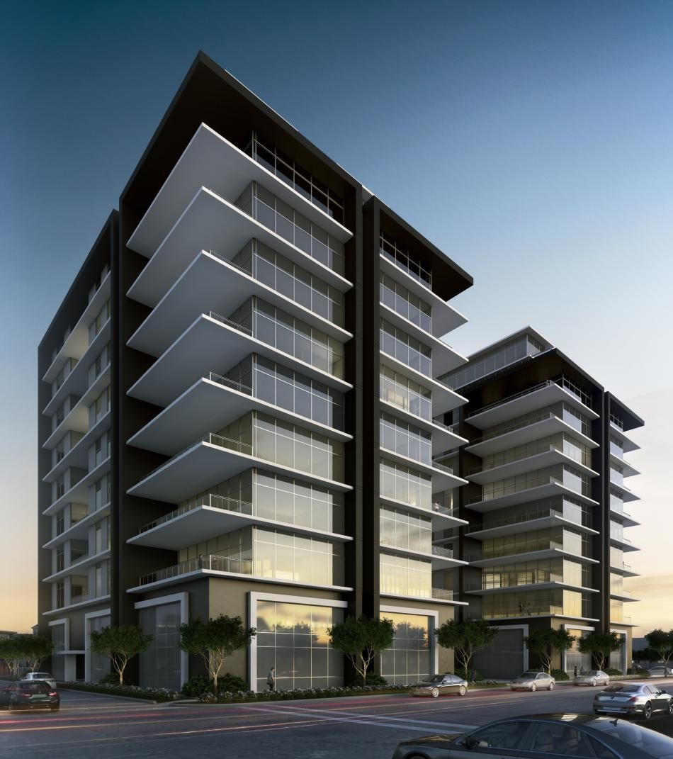 New Condos And Apartments Rise Up Around: High Rise Condo Concept