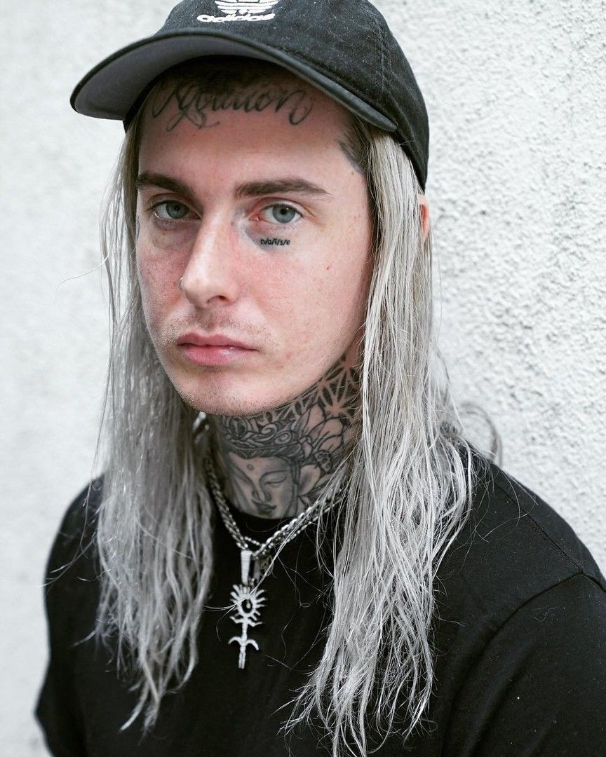 Ghostemane In 2020 Bad Girl Aesthetic Long Hair Styles Men Singer