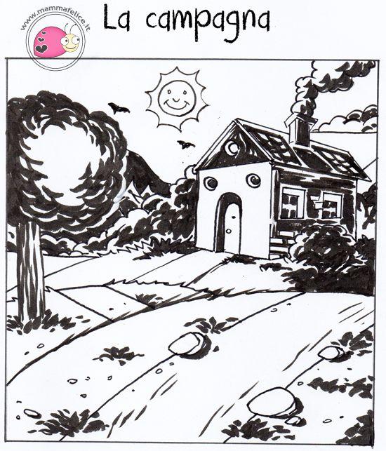 Oggi seconda lezione del nostro corso di disegno appen e for Paesaggi da disegnare facili