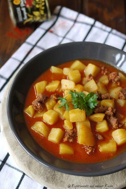 Experimente aus meiner Küche: Ungarisches Kartoffelgulasch + ...