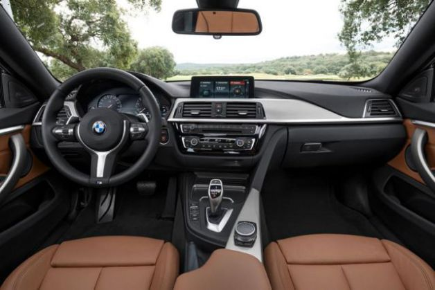 2018 BMW 4 Series Interior