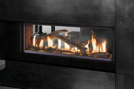 Lopi 4415 Linear Direct Vent Gas Fireplace Linear Fireplace Gas