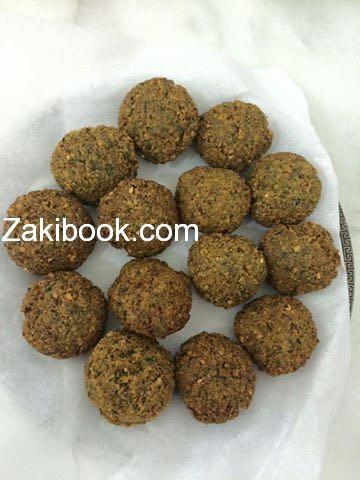 طريقة عمل الفلافل بالصور زاكي Falafel Mediterranean