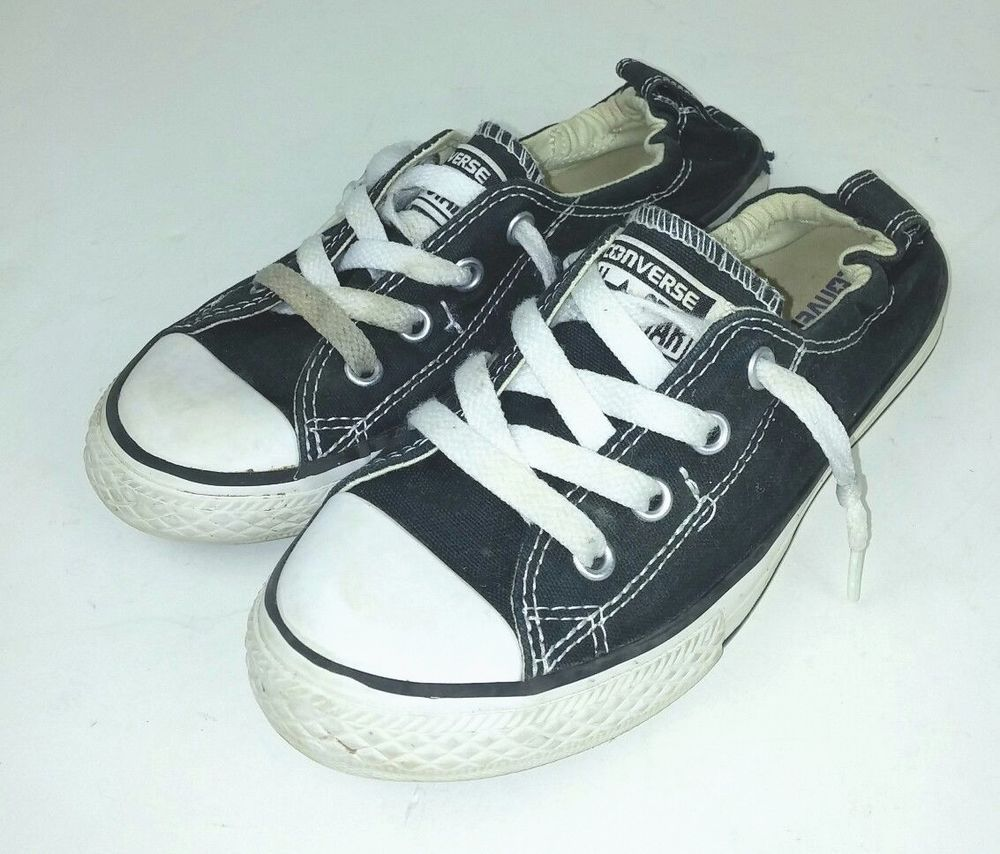 4901988eea9a Converse Kids Youth Size 2 Sneakers Shoes Shoreline Black Low Top Chuck  Taylor  Converse  CasualShoes
