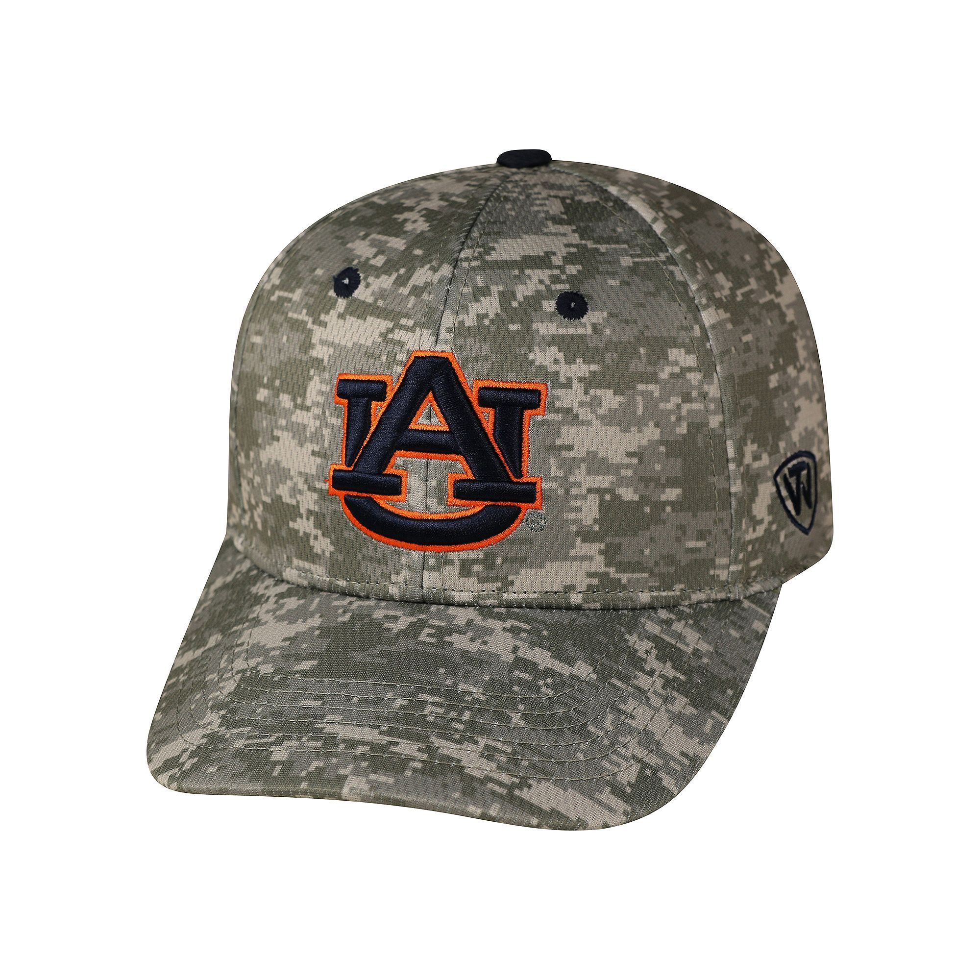 Adult Top Of The World Auburn Tigers Digital Camo One Fit