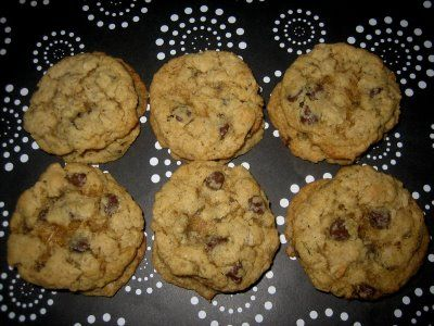 Oatmeal Chocolate Chip Cookies and seriously the best!