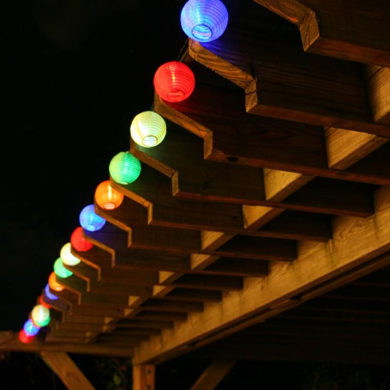 Solar String Lights Lowes Adorable Solar Chinese Lantern String Lights  3711Mr20  Lantern String Inspiration