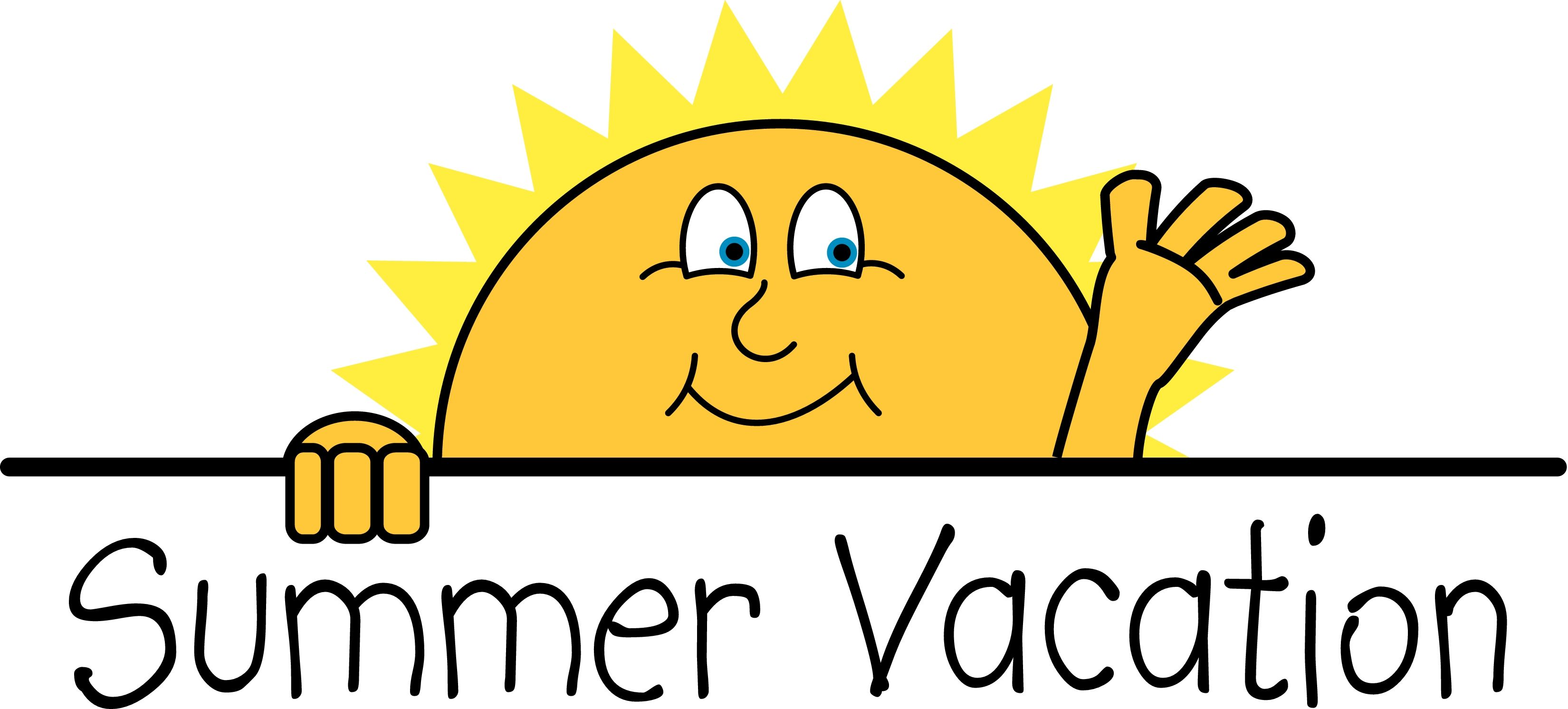 happy summer vacation clipart clipartfest jpeg 3300 1492 posts rh pinterest com school summer vacation clipart happy summer vacation clipart