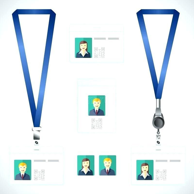 Luxury Blank Lanyard Template Awesome Site Free Lanyard Name Tag Id Card Template Blank Id Cards Card Template