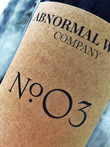 No. 03 Merlot - A very lovely Merlot sourced from Napa Valley. It's a very easy to drink red with very light tannins, making it enjoyable for just about any level of wine drinker.