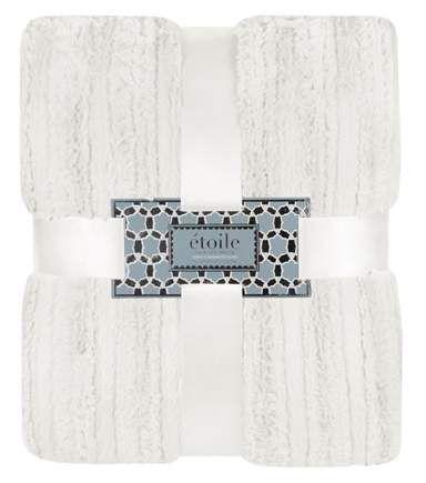 4040 Plush ThrowIvory Etoile Faux Fur Pillows Blankets And Simple Etoile Throw Blanket