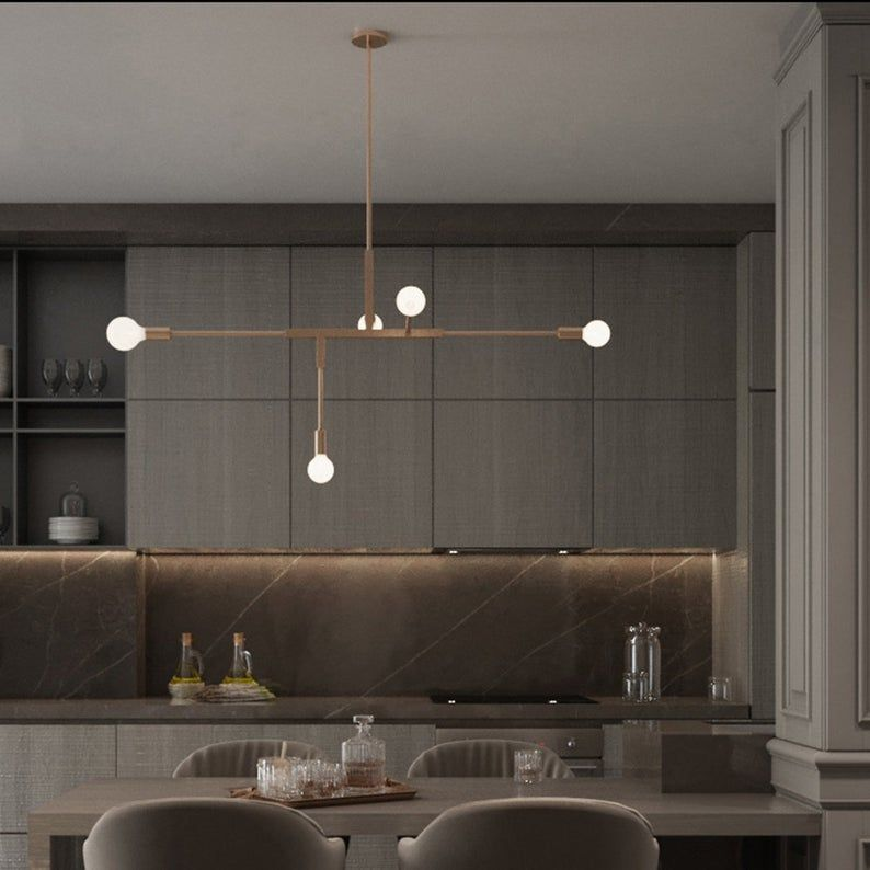 LamppoDesign Iron Bedroom Pendant Lamp,Elegant Dec