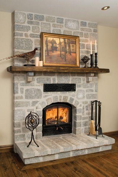 Rsf Opel 2 Fireplace Rustic Finishing Beautiful Fire Brick