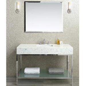 Stainless Steel Bathroom Vanity Top